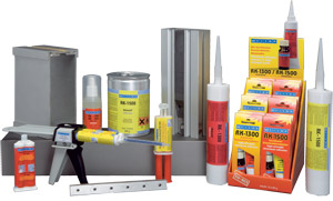 WEICON RK Construction Adhesives are 2-component systems based on methacrylate, which cure fast at room temperature